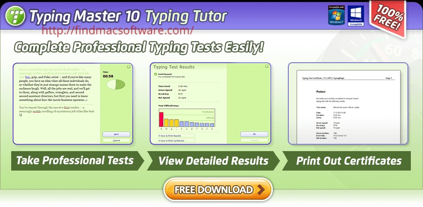 Typing Master Pro Full version Crack + Product Key Free Download Cover