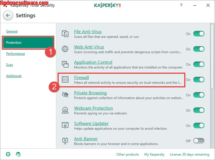 Kaspersky Total Security license code