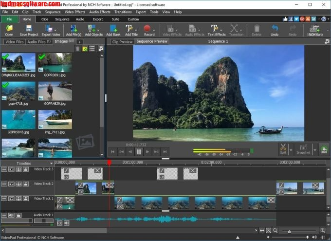 Videopad Video Editor latest